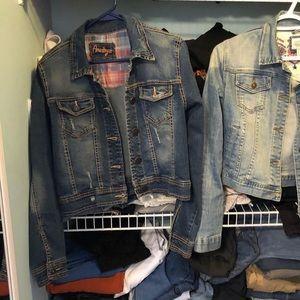 Amethyst jean jacket